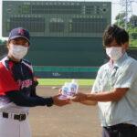 20200831 消毒液を東海地区大学野球連盟へ寄付1
